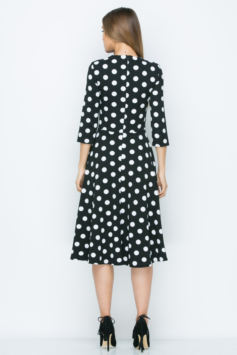 Платье A158 цвет черный