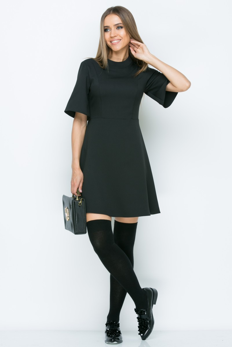 Платье A153 цвет черный