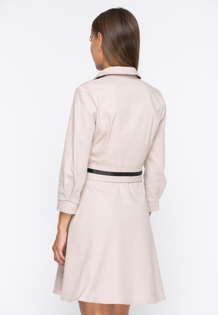 Платье А230 цвет бежевый