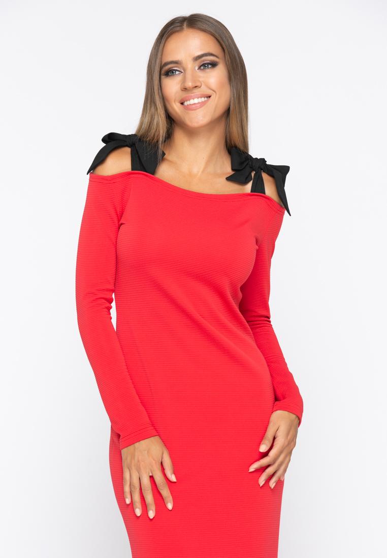 Платье А228 цвет красный
