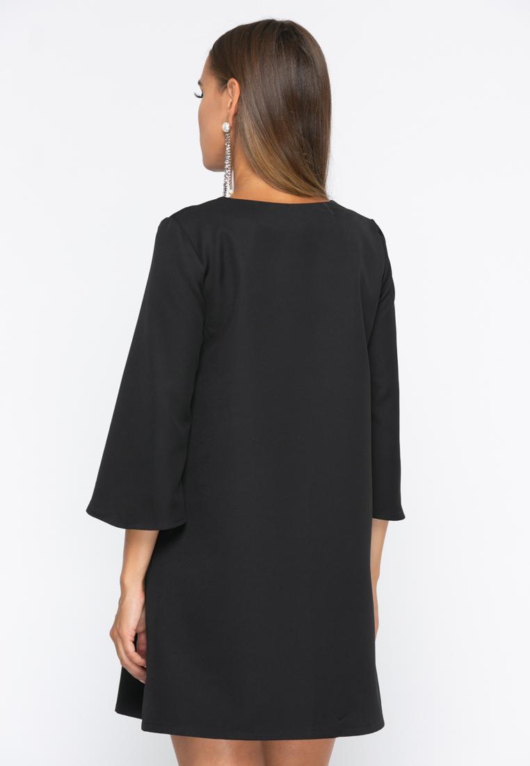 Платье А229 цвет черный