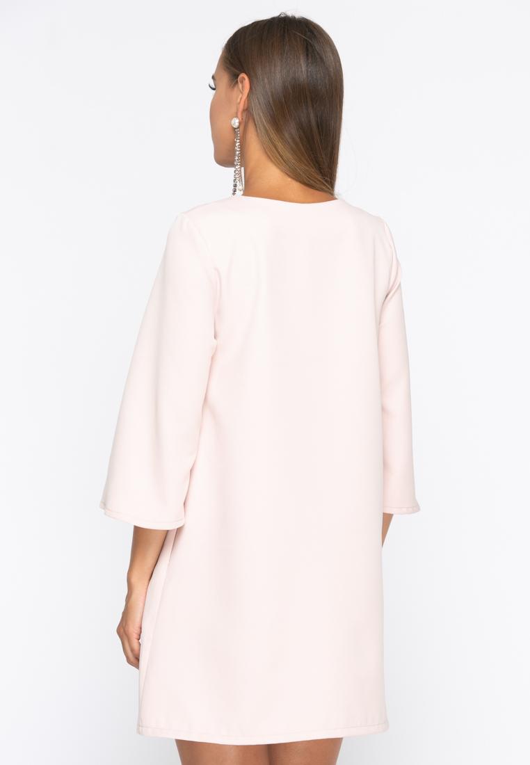 Платье А229 цвет бежевый