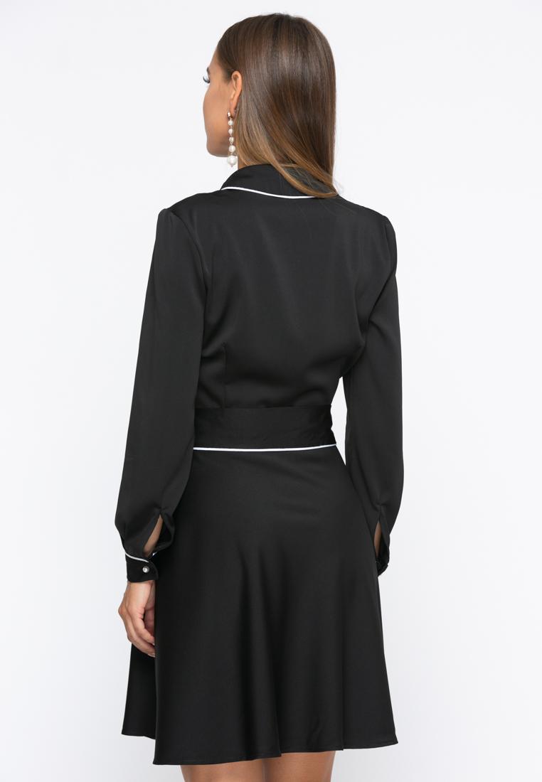 Платье А236 цвет черный