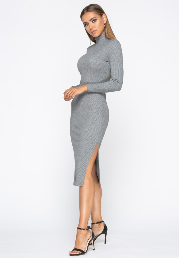 Платье A233 цвет св.серый