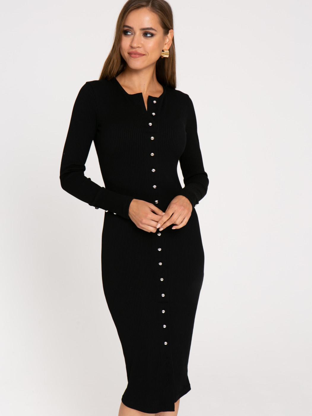 Платье А411 цвет: черный