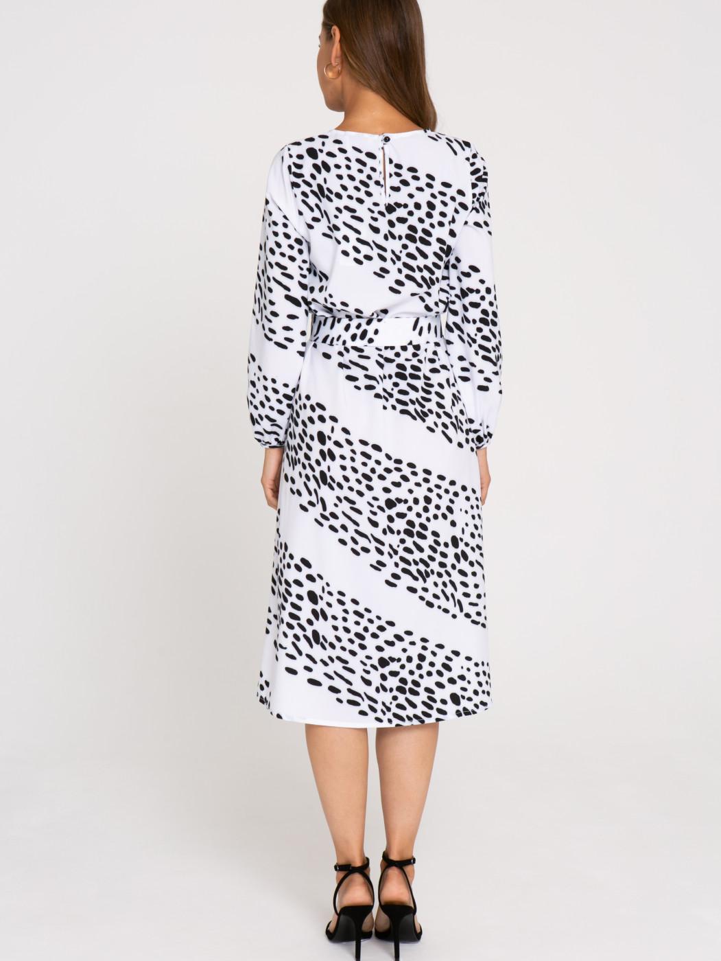 Платье А414 цвет: молочный