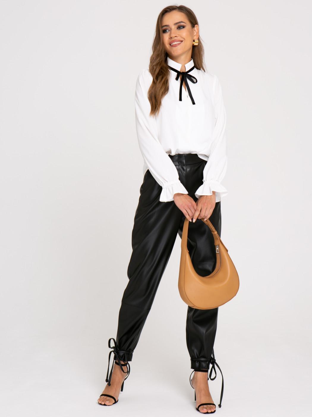 Блузка А417 цвет: молочный