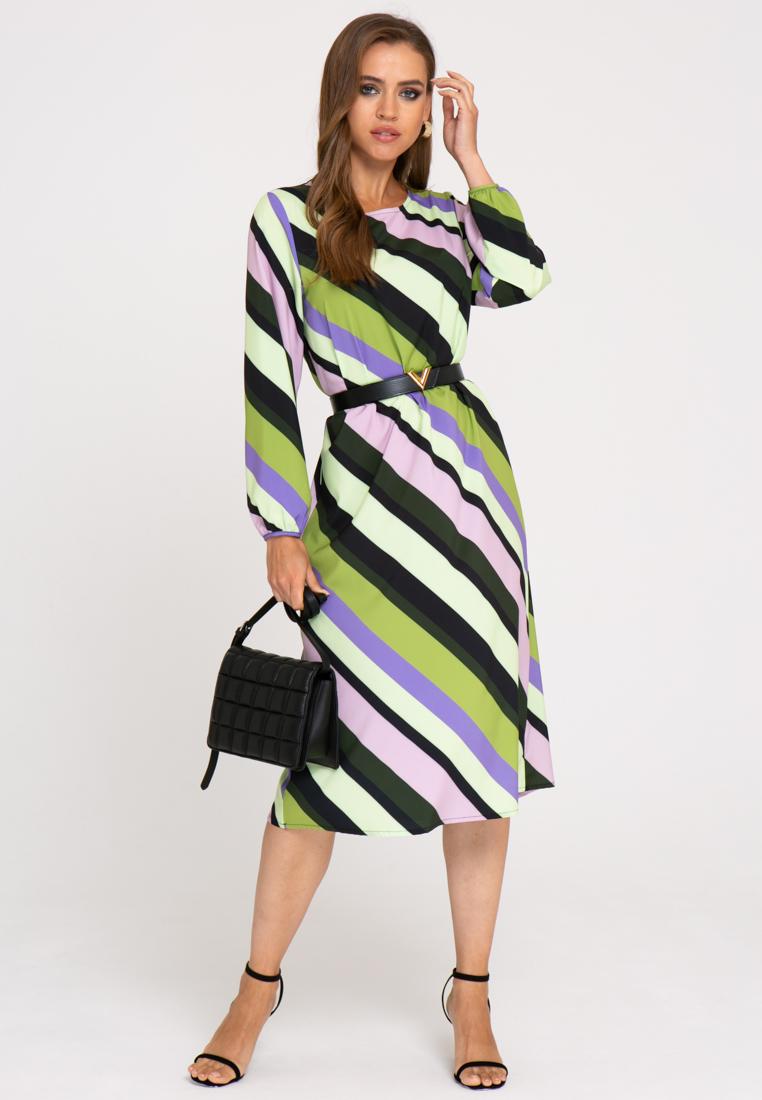 Платье А414 цвет: хаки