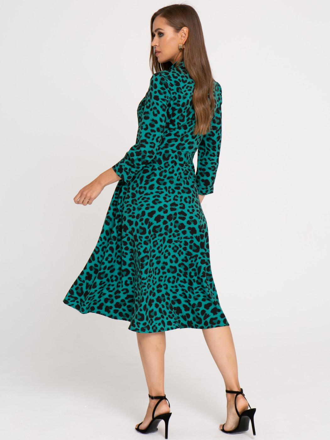 Платье А407 цвет: зеленый