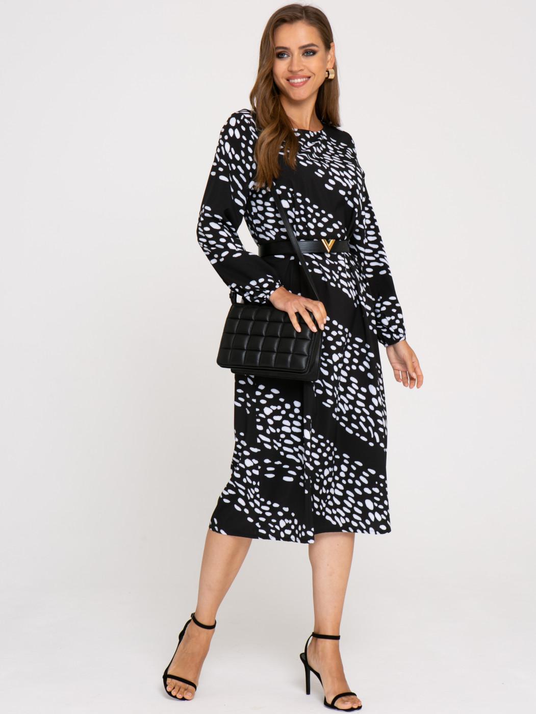 Платье А414 цвет: черный