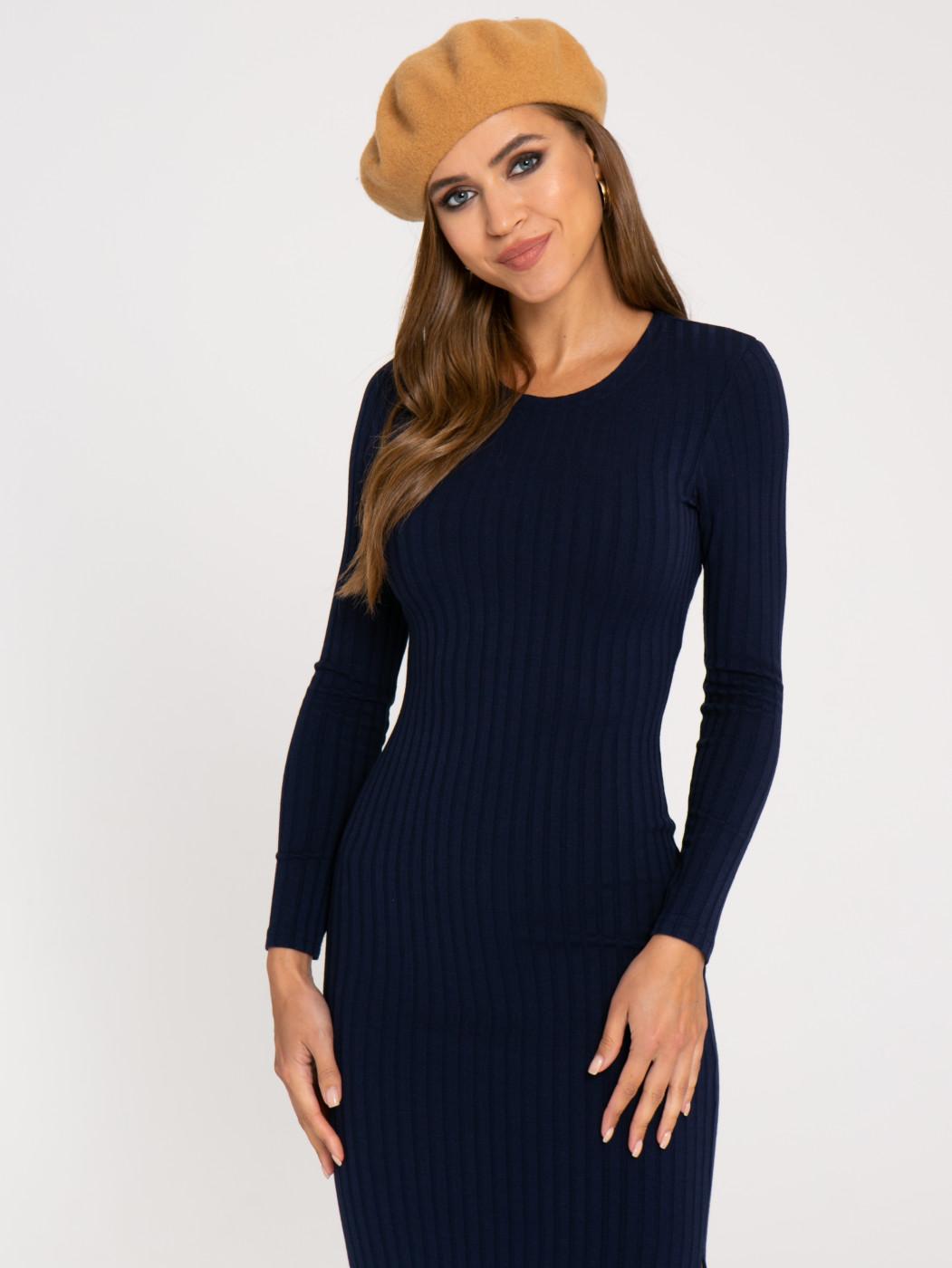 Платье А406 цвет: синий