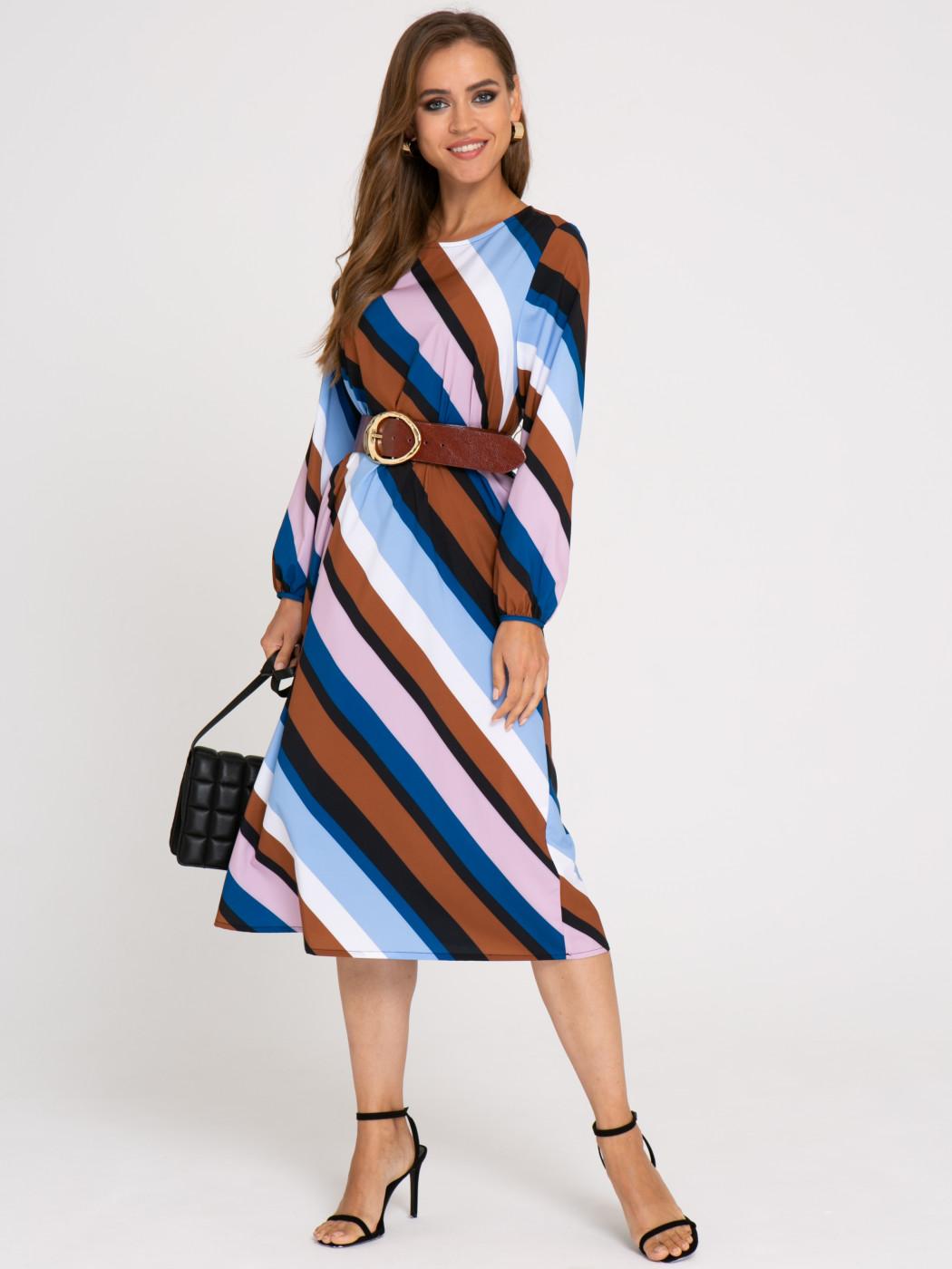 Платье А414 Цвет: синий