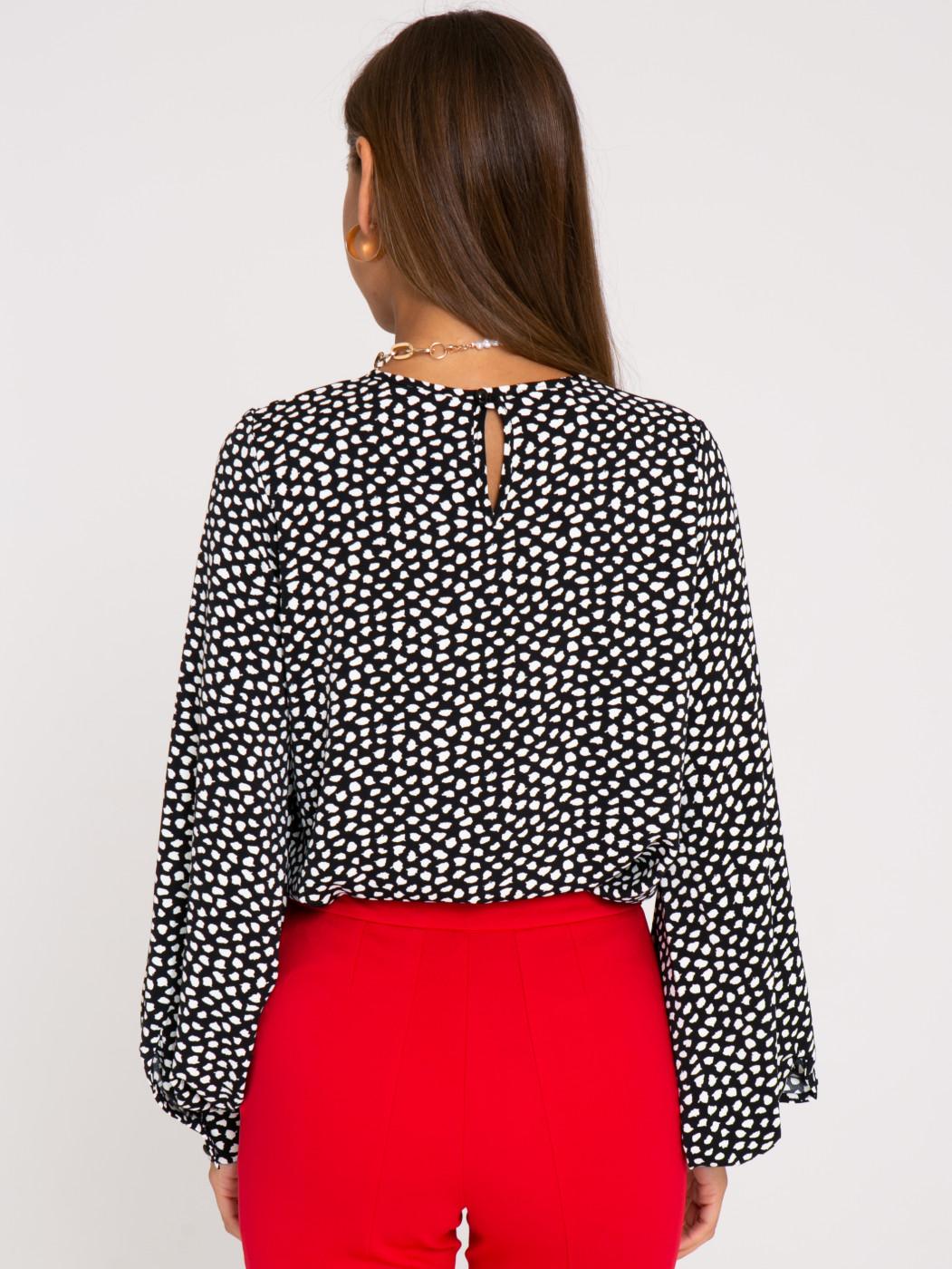 Блузка А403 цвет: черный