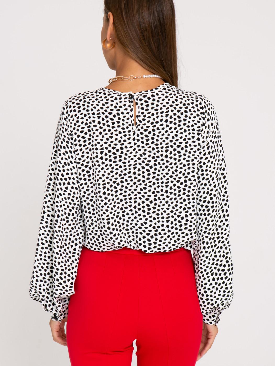 Блузка А403 цвет: молочный