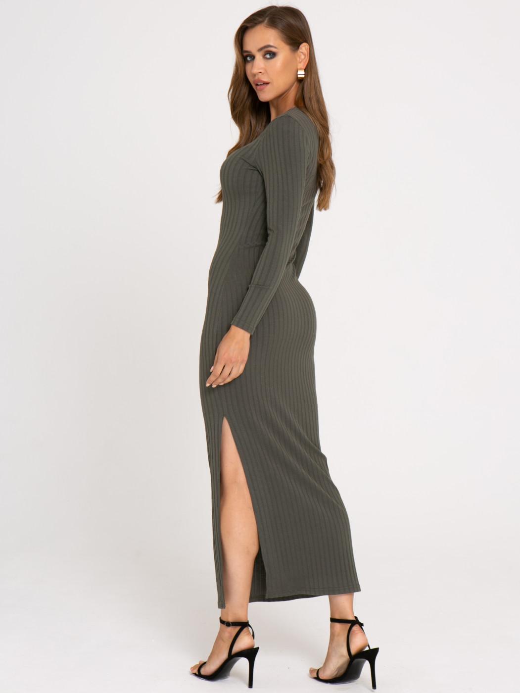 Платье А406 цвет: хаки