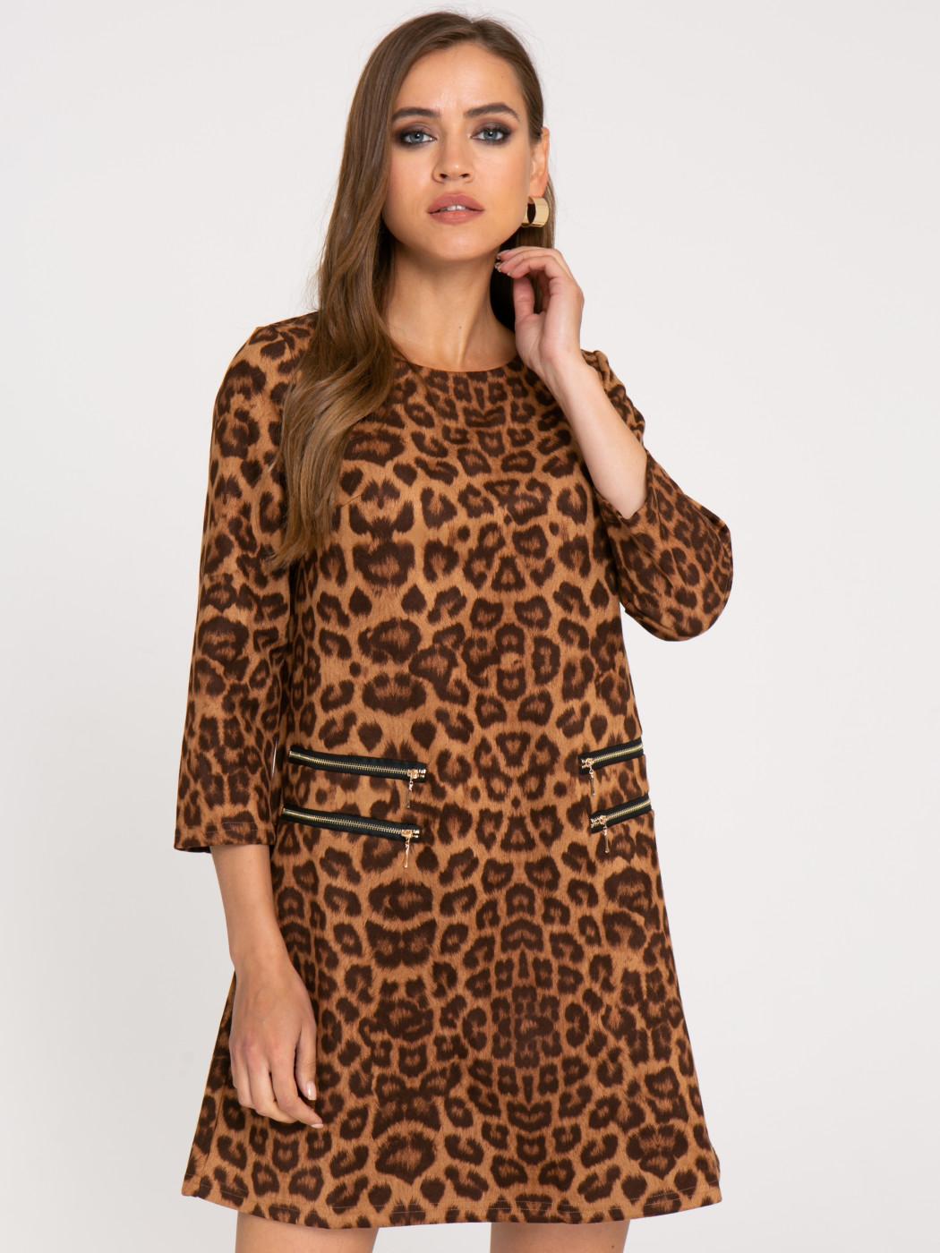 Платье А415 цвет: бежевый