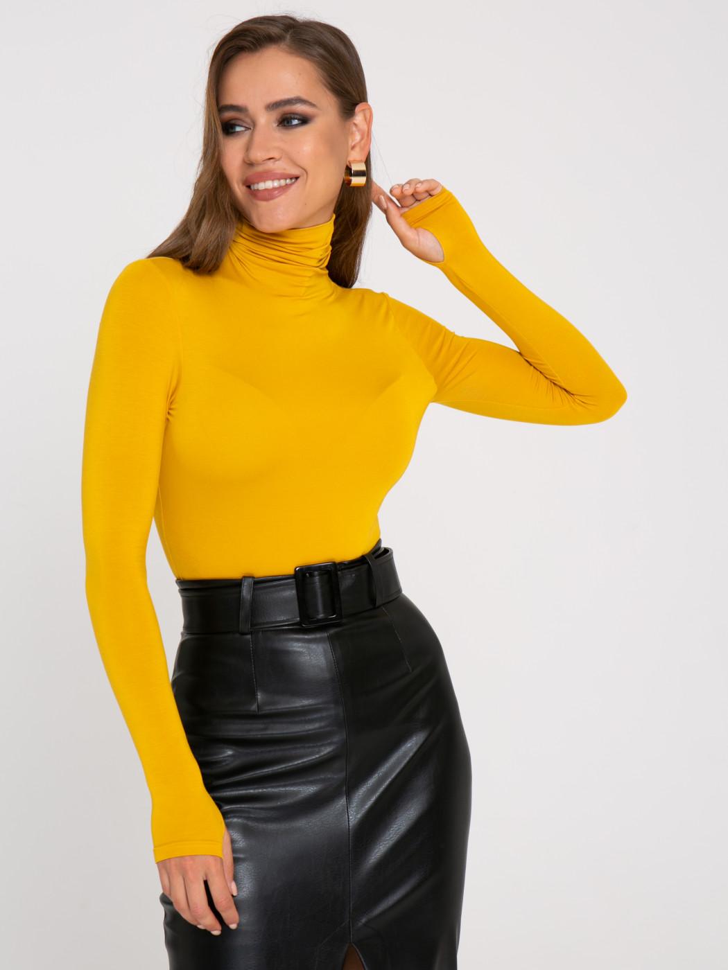Водолазка А405 цвет: желтый