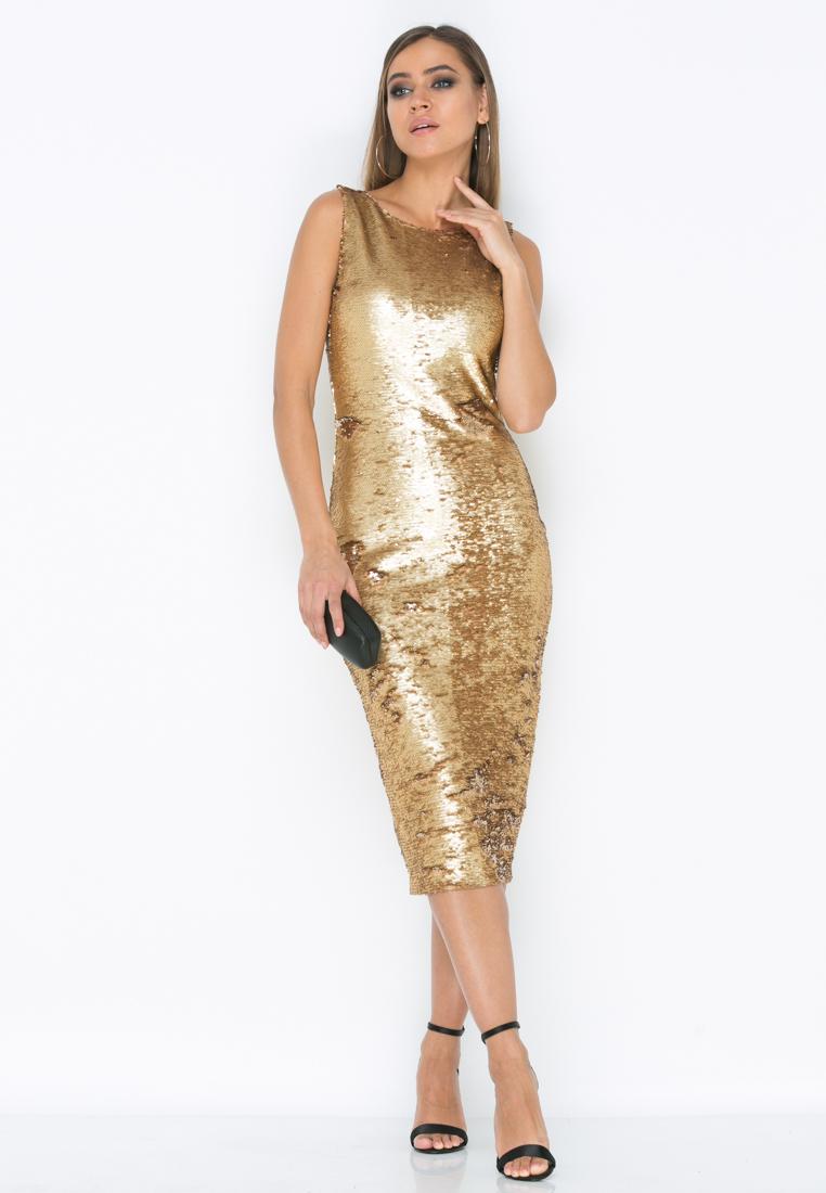 Платье Z187 цвет золотой