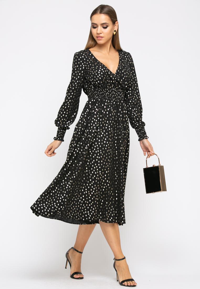 Платье Z254 цвет черный
