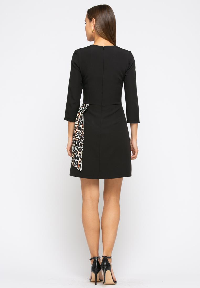 Платье Z267 цвет черный