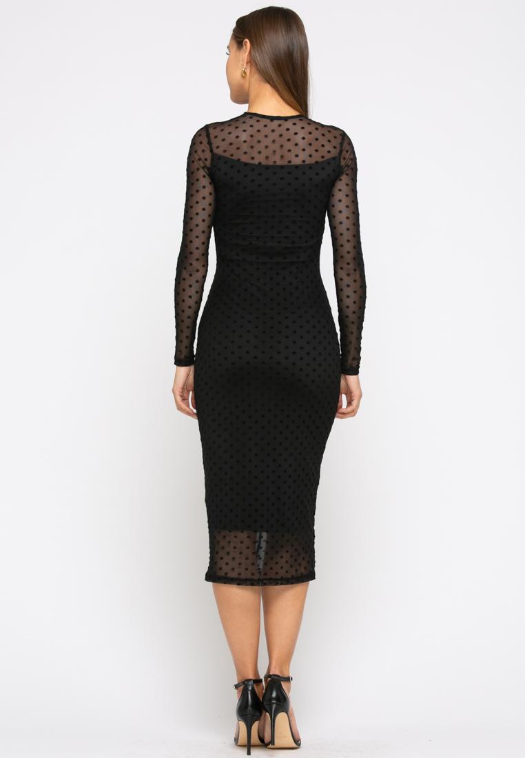 Платье  Z260 цвет черный