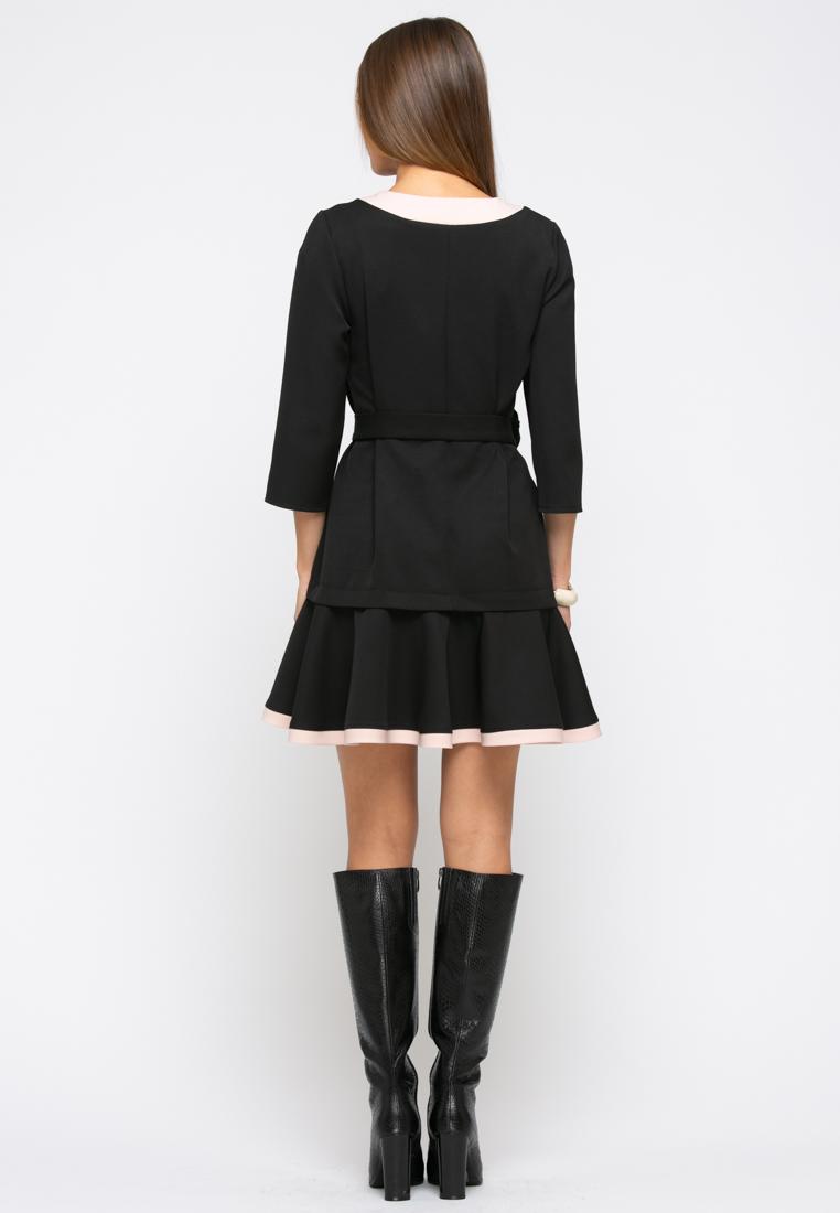 Платье Z256 цвет черный