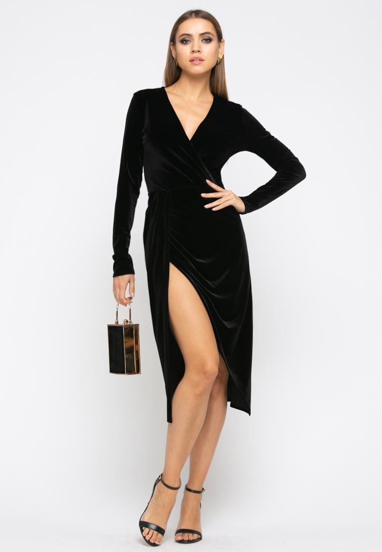 Платье Z257 цвет черный
