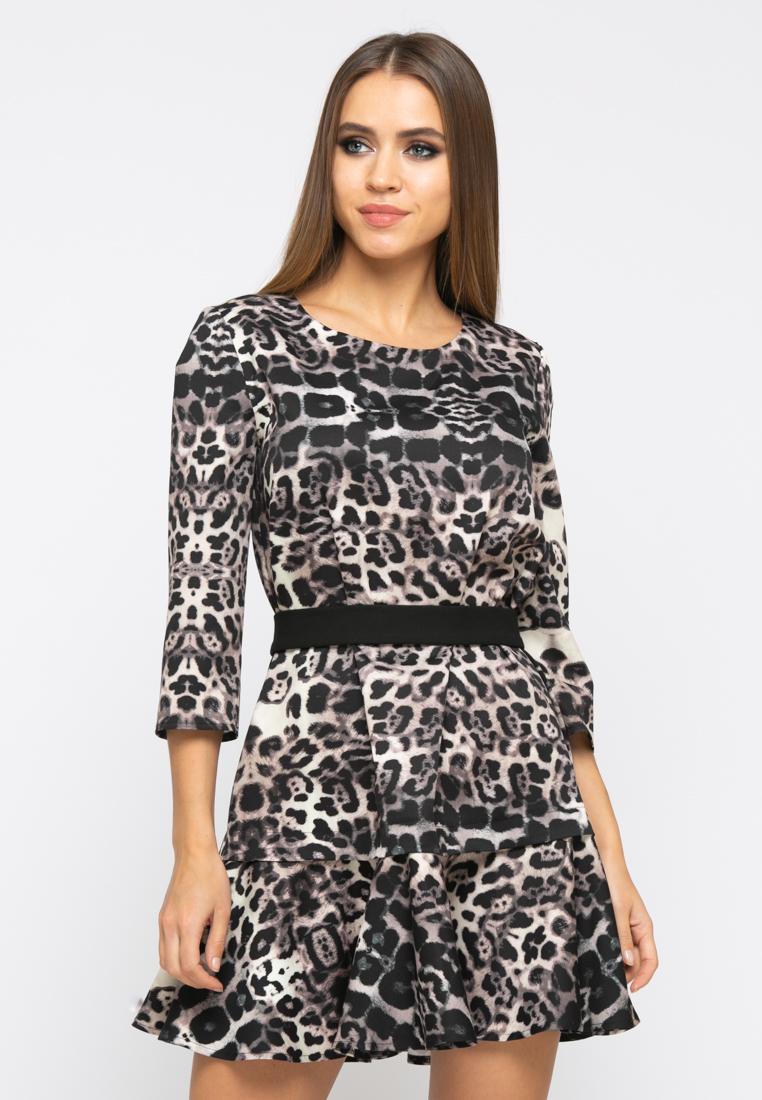 Платье Z256 цвет коричневый