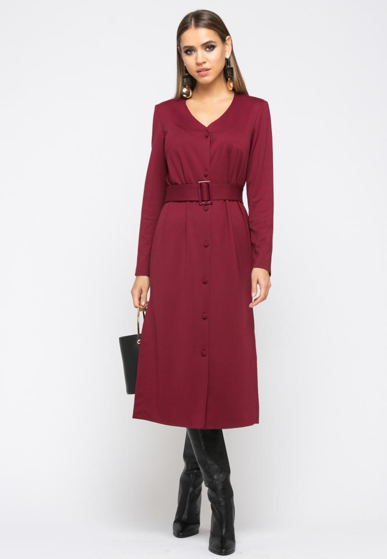 Платье Z246 цвет бордовый