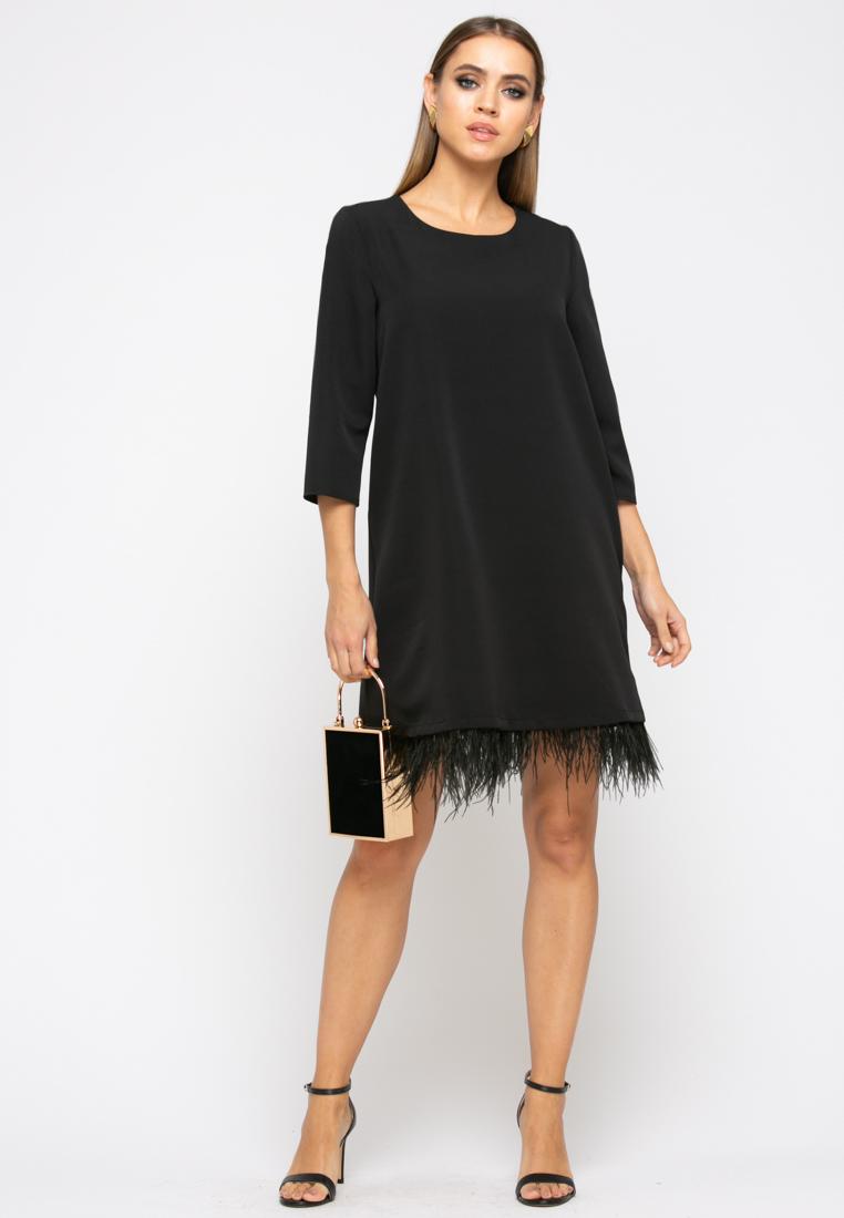 Платье Z264 цвет черный