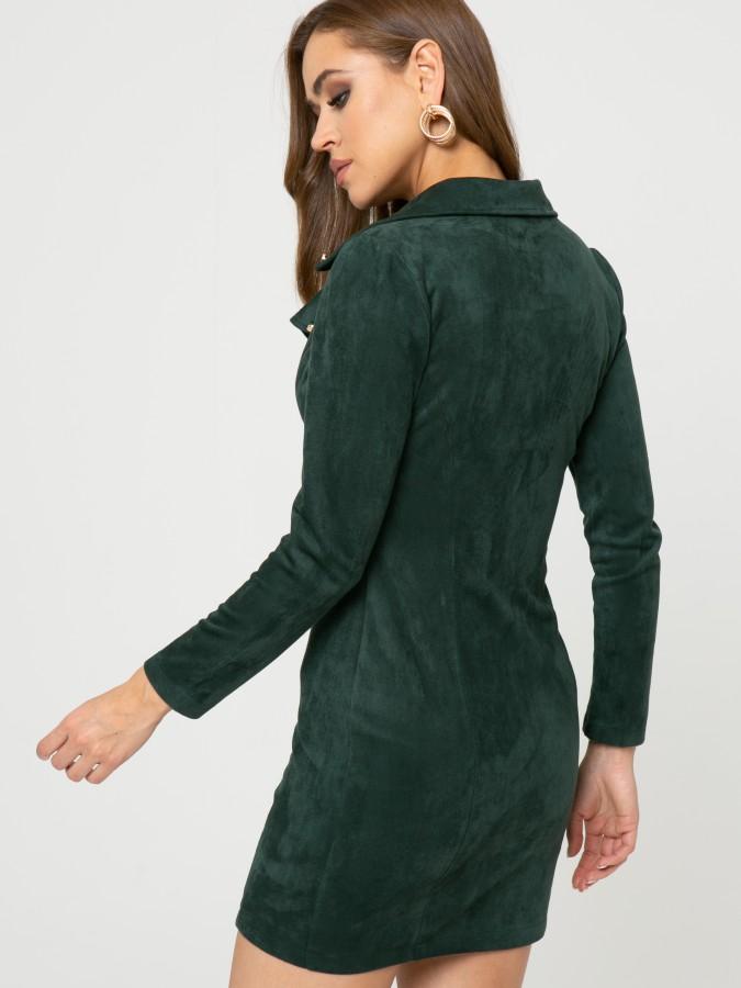 Платье Z350 цвет зеленый