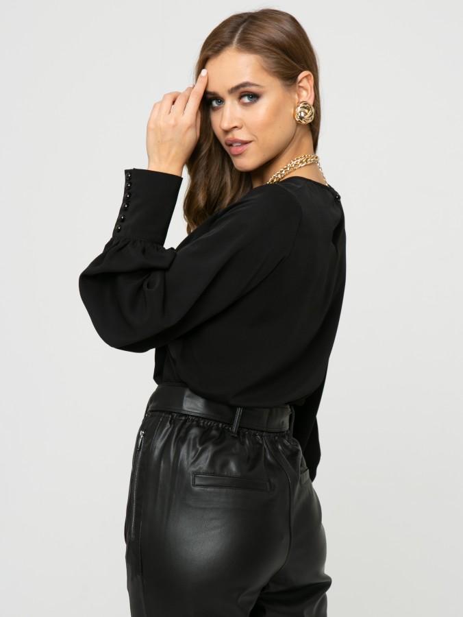 Блузка Z334 цвет черный