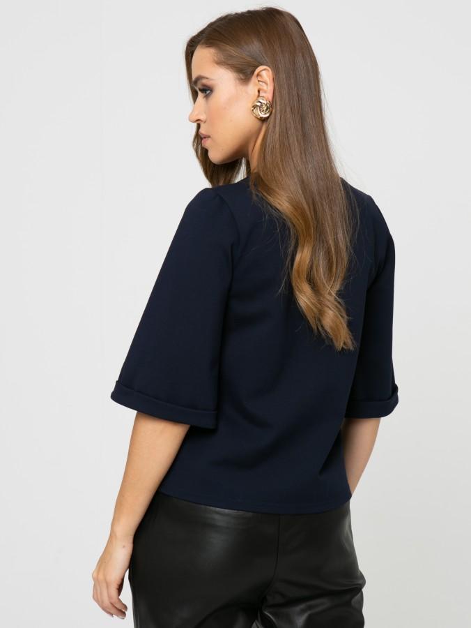 Блузка Z352 цвет синий