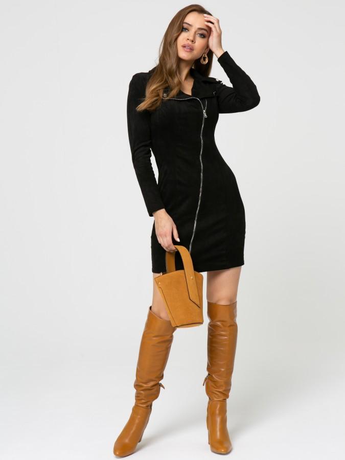 Платье Z350 цвет черный