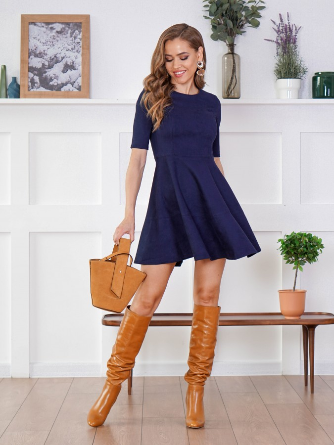 Платье Z339 цвет синий