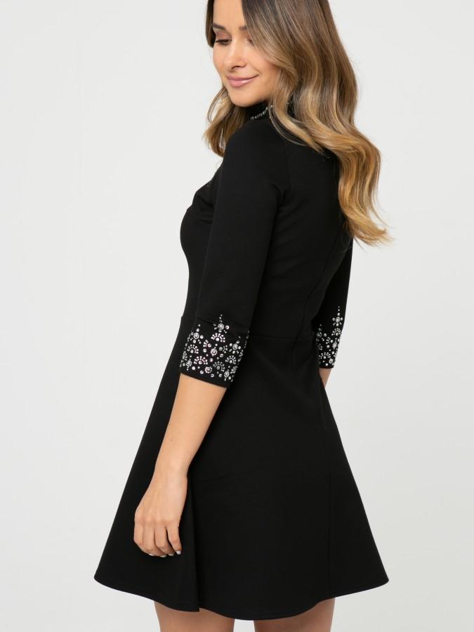 Платье Z345 цвет черный