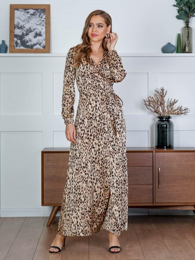 Платье Z341 цвет бежевый