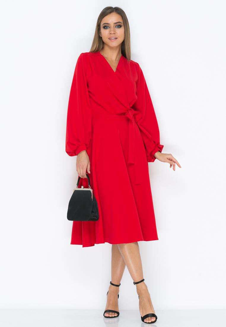 Платье Z195 цвет красный