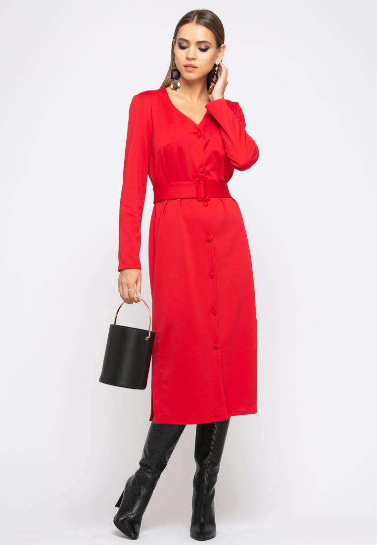 Платье Z246 цвет красный