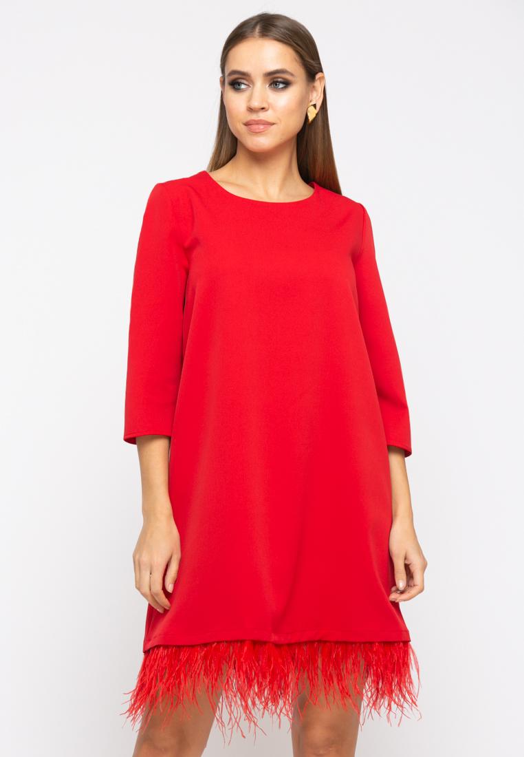 Платье Z264 цвет красный
